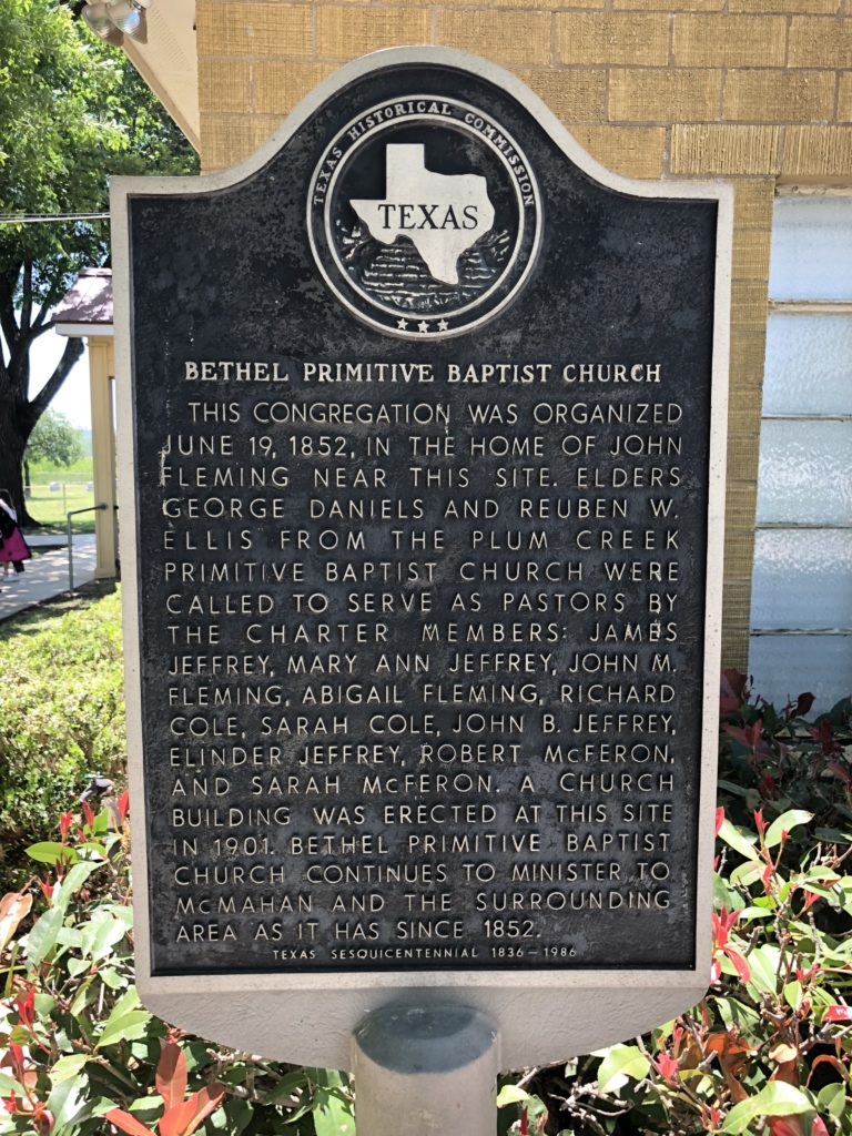 Bethel Church Historic Monument